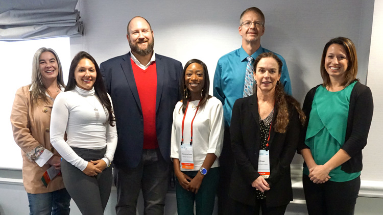 Visa Sponsored Six Educators to Attend the National Jump$tart Educator Conference banner
